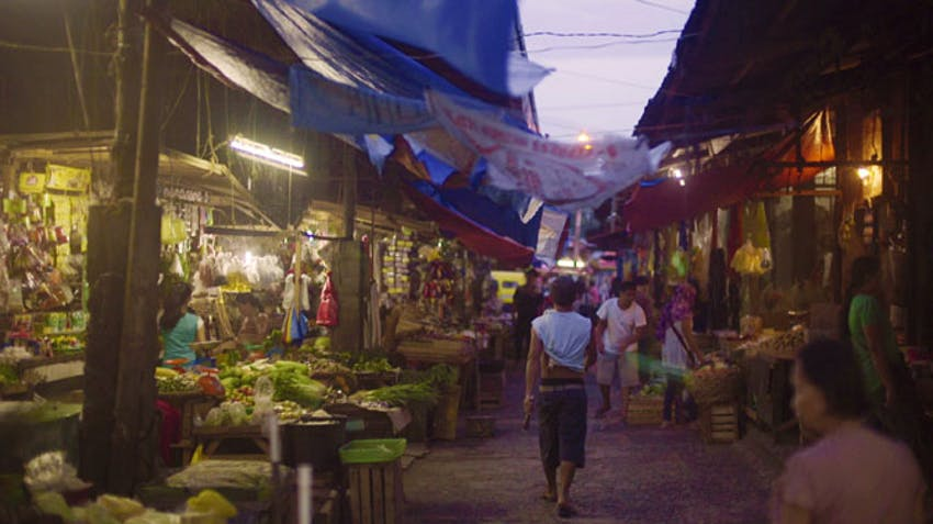 The markets in the Philippines where IVHQ volunteers visit