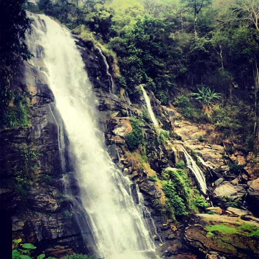 Visiting waterfalls in Thailand with IVHQ