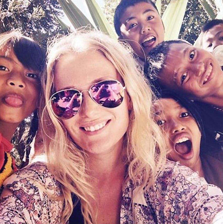 Volunteer in Bali with IVHQ - Selfie