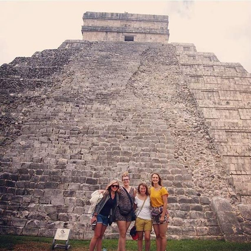 Volunteer in Mexico with IVHQ - History buff