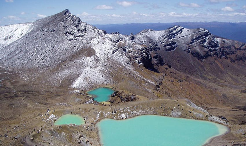 Volunteer in New Zealand - Tongariro Crossing Weekend Activity