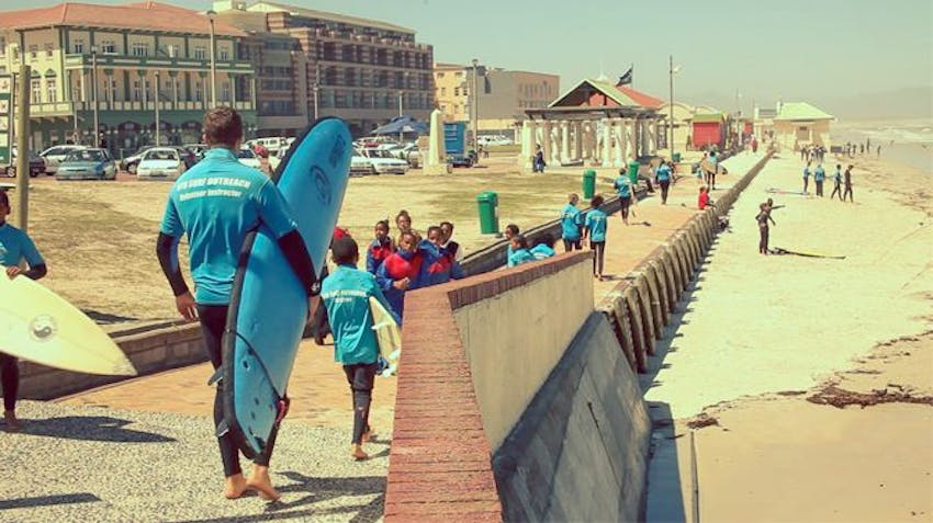 Volunteer Abroad Programs 2015 Surf Outreach in South Africa