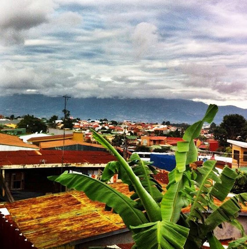 Looking over Costa Rica with IVHQ