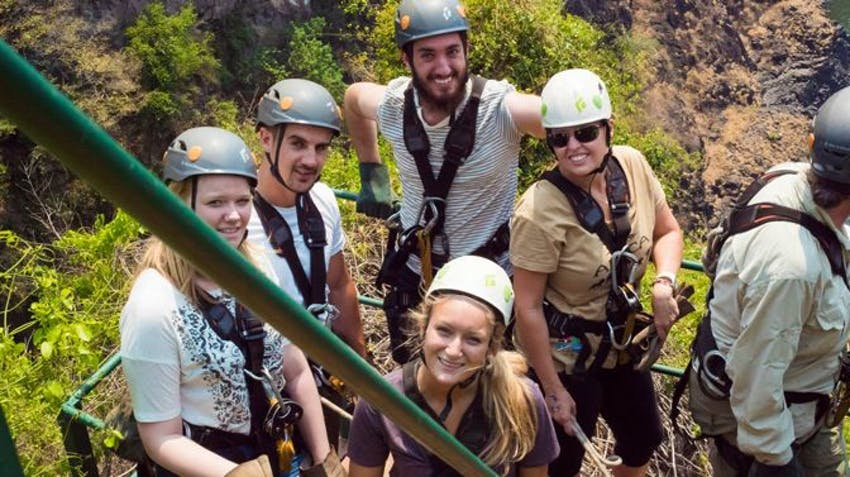 Volunteer To Volunteer Abroad As A Group In Victoria Falls