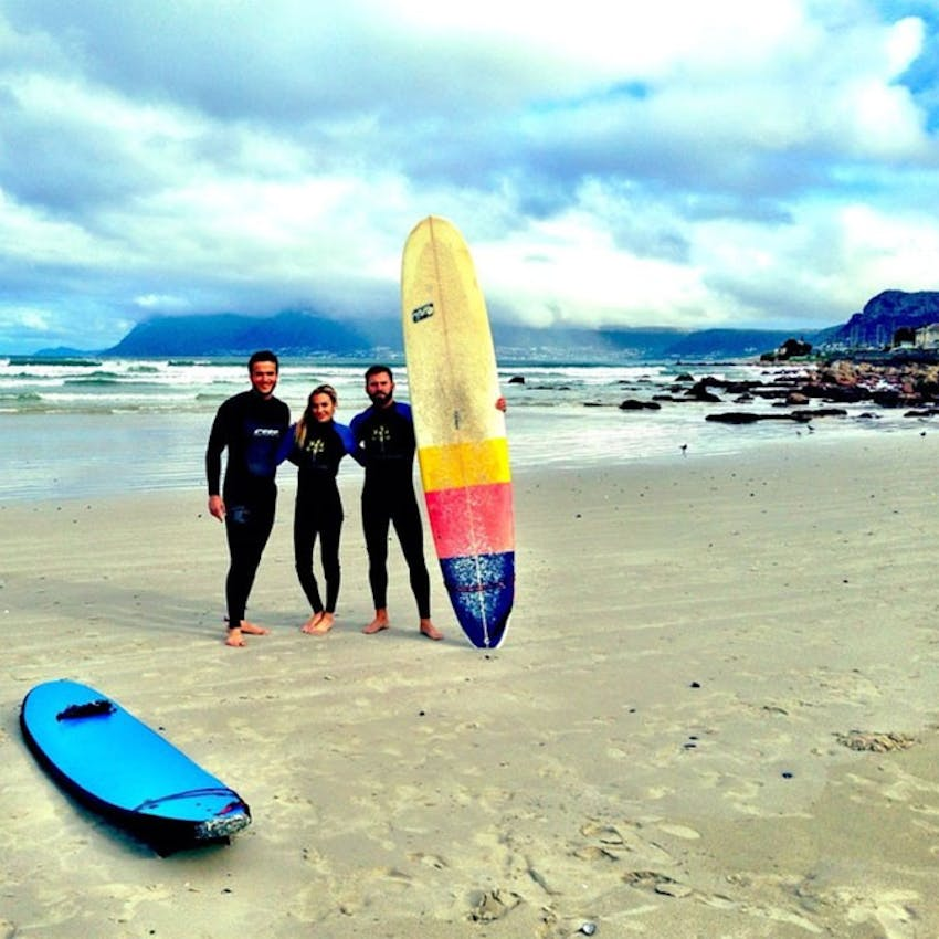 Alyssa Ramos on the Surf Project in South Africa with IVHQ