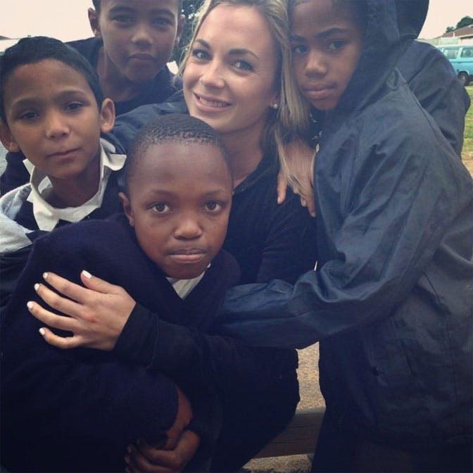 Volunteer Teacher Alyssa Ramos in South Africa with IVHQ