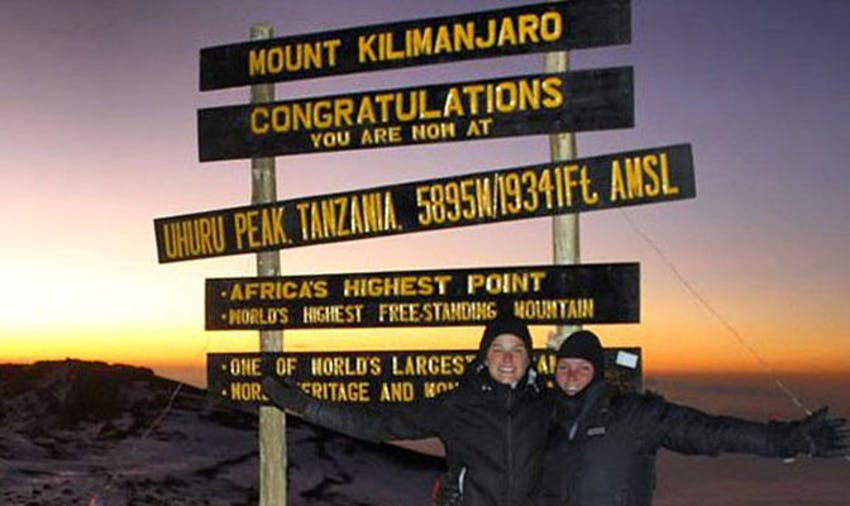 Climbing Kili as IVHQ volunteers in Tanzania