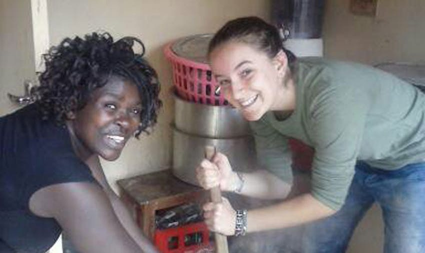 IVHQ Volunteer, Ella, in Kenya with IVHQ