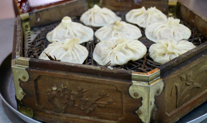 Dumplings in China with IVHQ