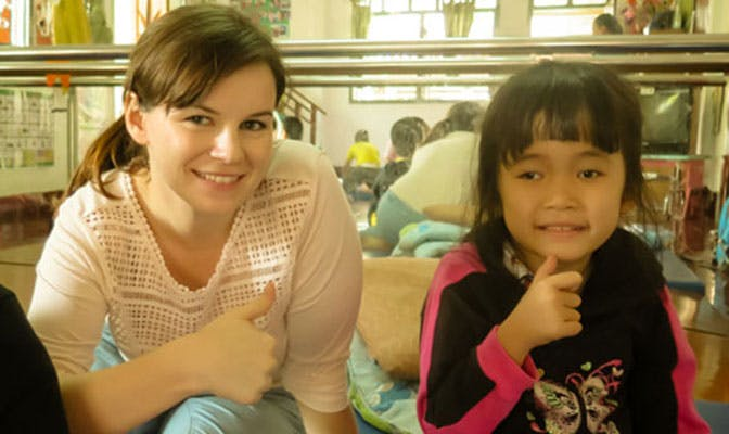 Five likes and learning from volunteering in Laos