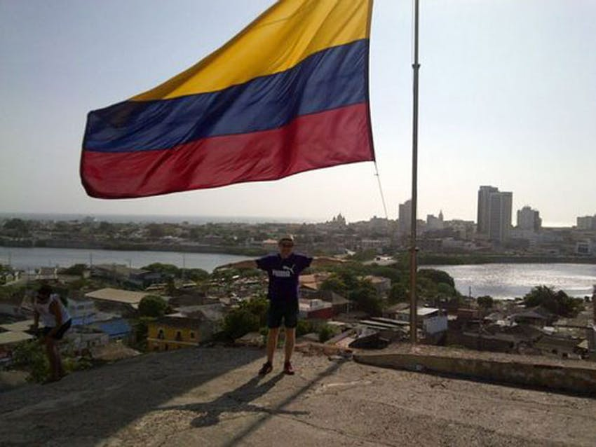 IVHQ Danny in Colombia with IVHQ