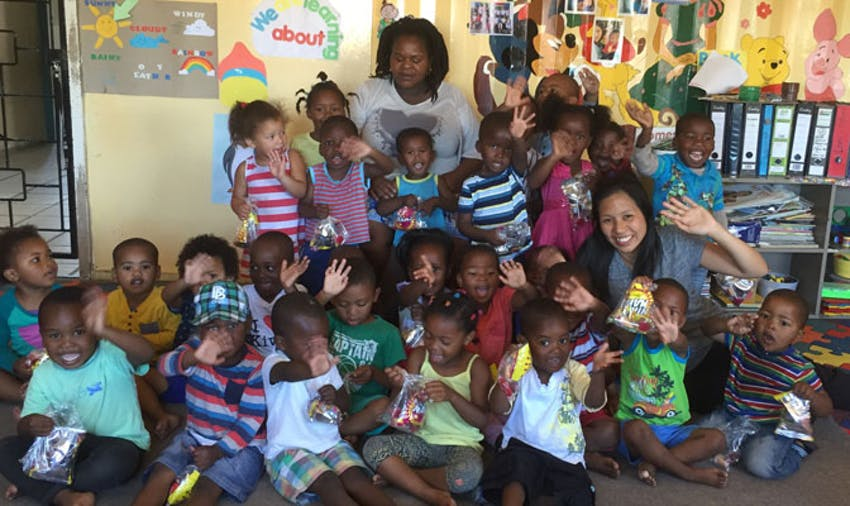 Volunteering in a childcare with IVHQ in South Africa