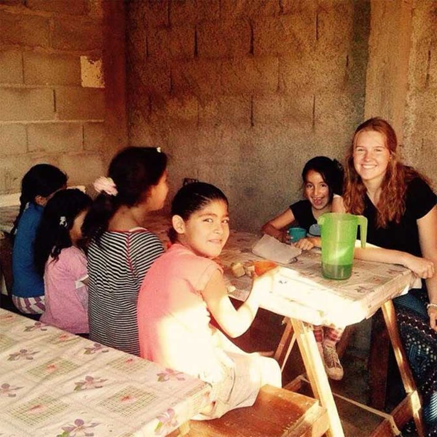 IVHQ volunteer teacher in Argentina
