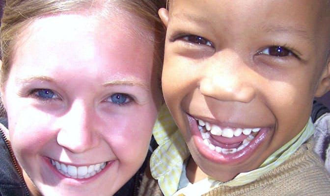 IVHQ volunteer teacher Megan in Tanzania