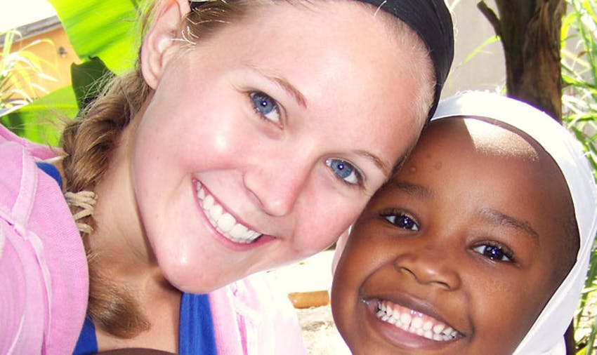 Tanzania IVHQ volunteer Megan Slotter