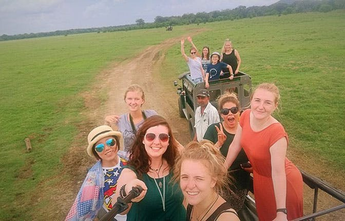 Natalie Ifill volunteering in Sri Lanka with IVHQ