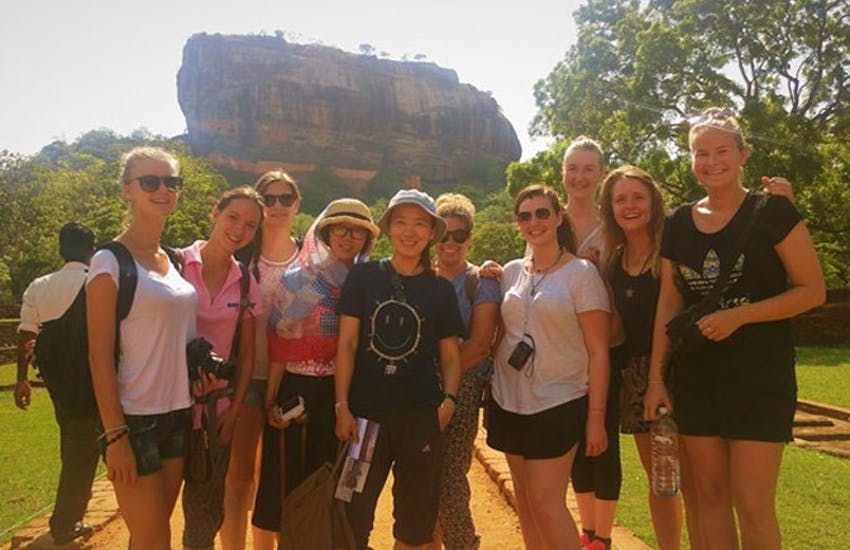 Visiting Lions Head as an IVHQ volunteer in Sri Lanka