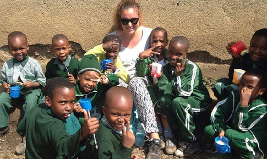 IVHQ volunteer in Tanzania