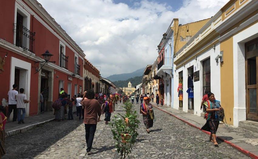 Walking the streets of Guatemala as an IVHQ volunteer