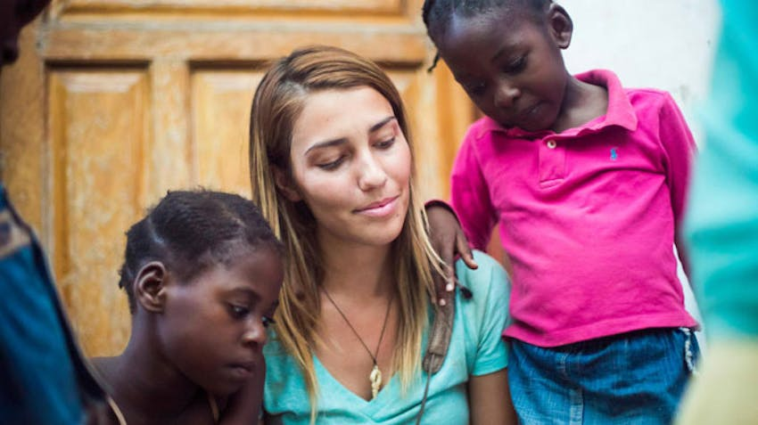 An IVHQ in an orphanage in Zambia
