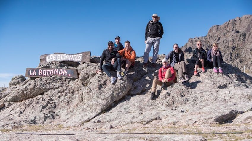 IVHQ volunteers visiting Los Gigantes in Argentina