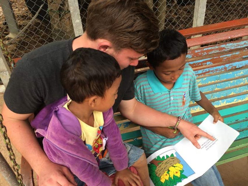 Volunteer in Childcare as a volunteer in Cambodia with IVHQ