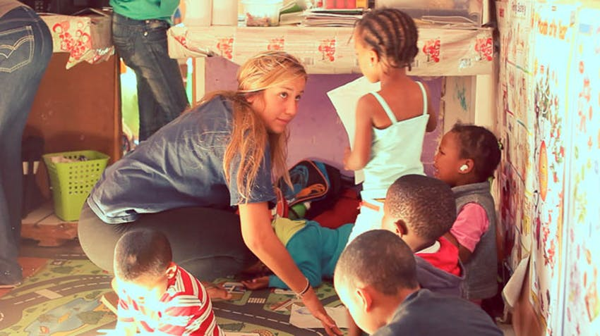 Volunteer in childcare in South Africa with IVHQ