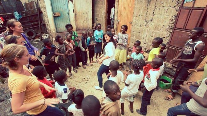 Childcare volunteers in Kenya with IVHQ