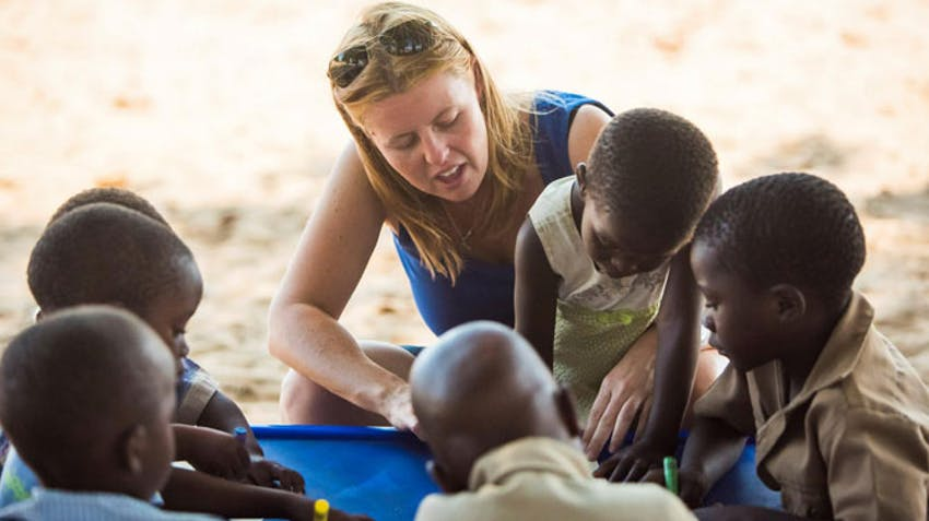 Consider volunteering in Victoria Falls on your volunteer Gap Year