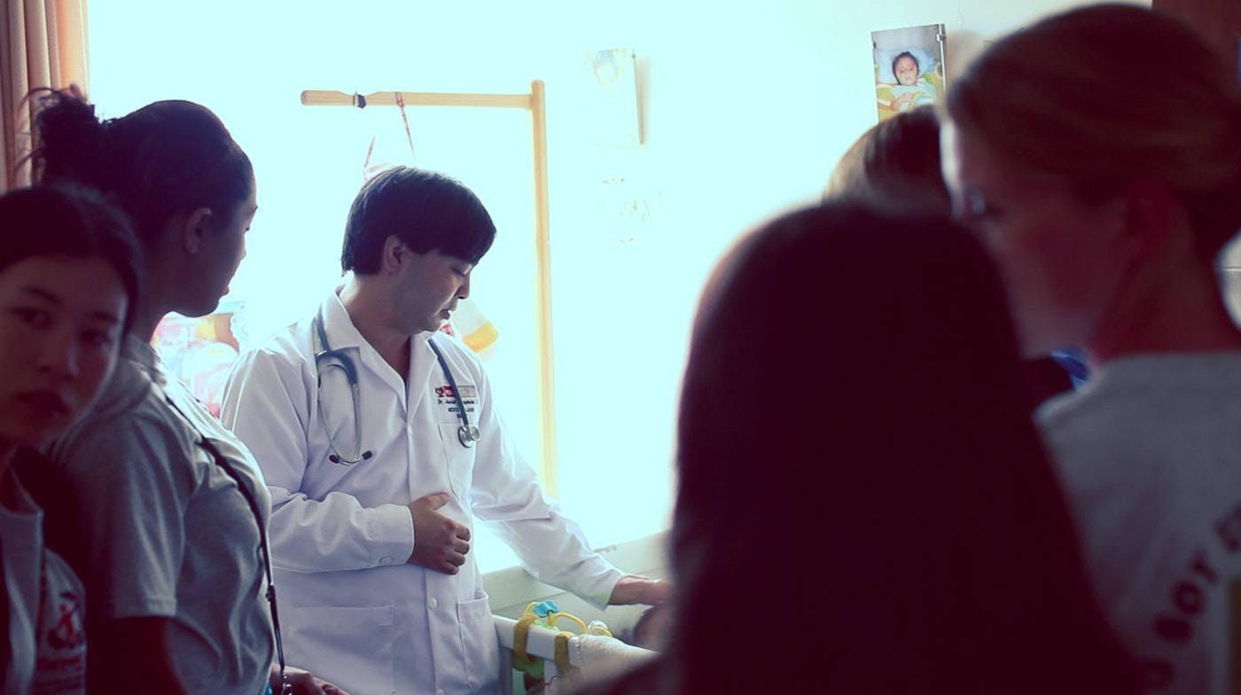 IVHQ medical volunteer in Lima, Peru