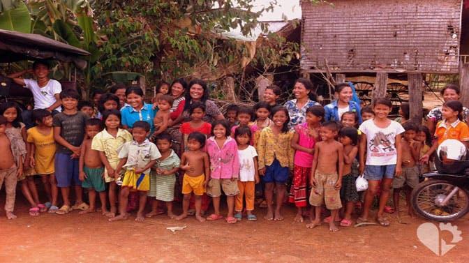 IVHQ volunteer Vin Kebblewhite as a volunteer in Cambodia