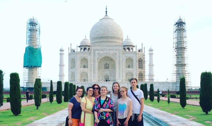 Volunteer with IVHQ as family in India