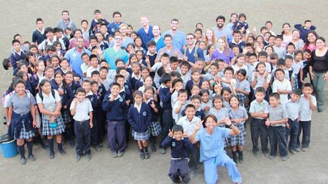Volunteer as a medical group with International Volunteer HQ
