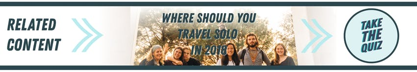 Quiz: Where Should You Travel Solo in 2018? IVHQ