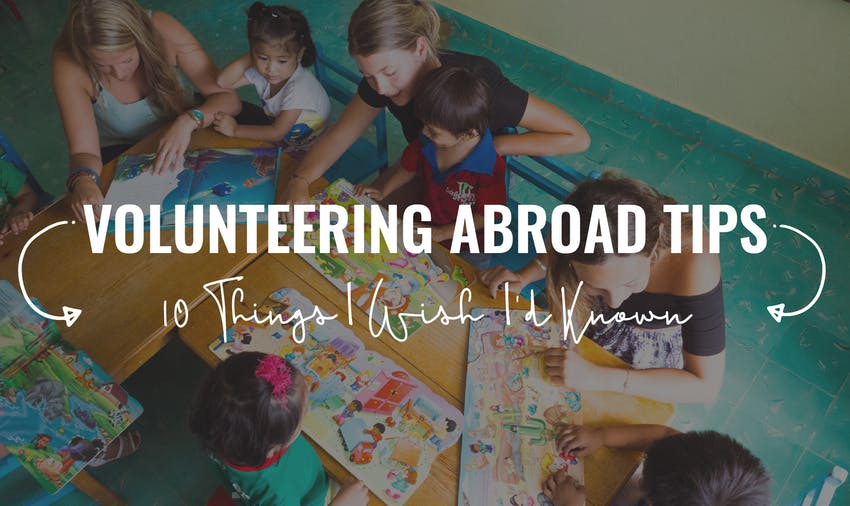 Volunteering abroad tips from an expert