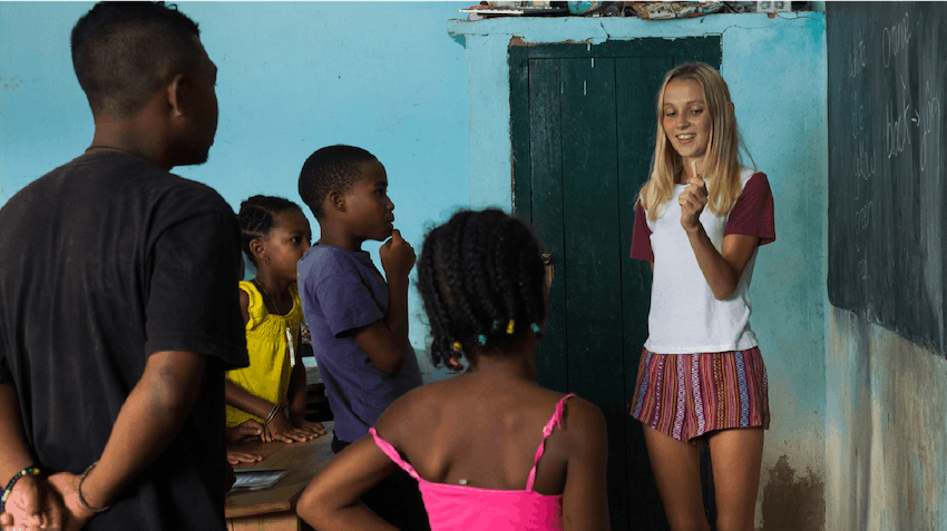 Volunteer abroad as a teen in Madagascar with IVHQ