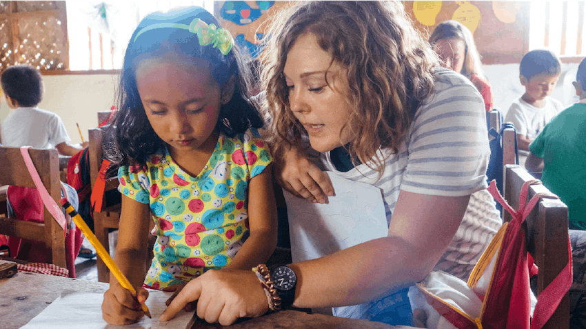 Volunteer abroad in the Philippines as a teen with IVHQ