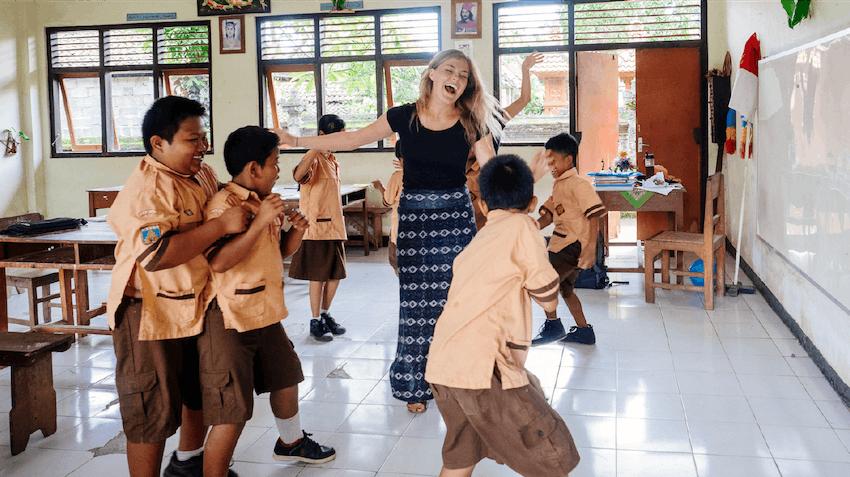 International Volunteer HQ teen volunteer abroad programs in Bali