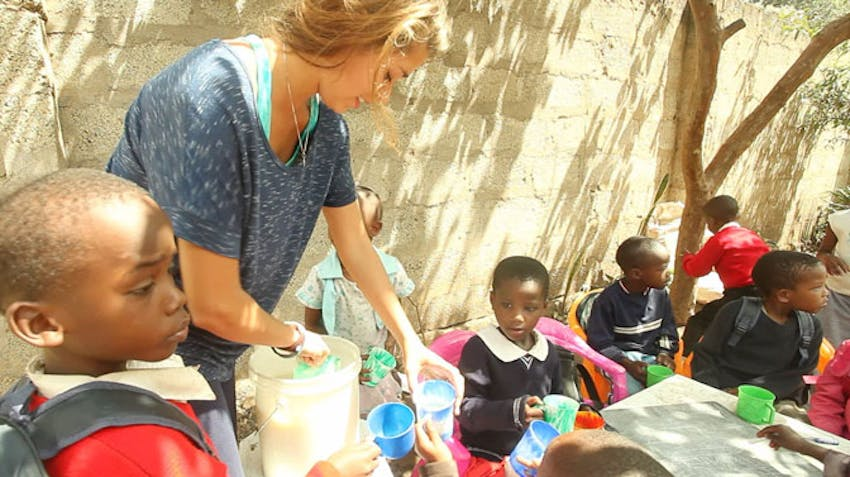 Volunteering in an orphanage with IVHQ in Tanzania