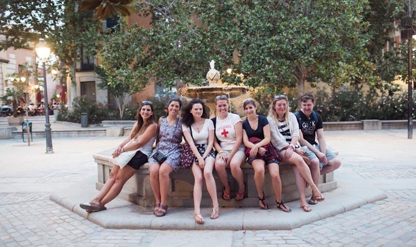 Group of IVHQ volunteers in Spain