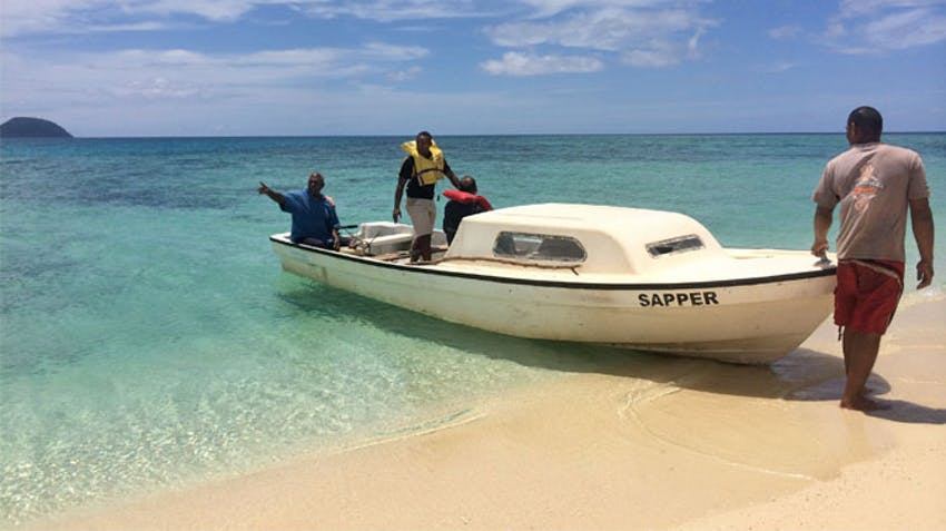 Exploring the islands of Fiji as an IVHQ volunteer during schoolies