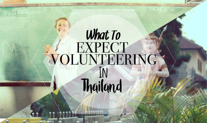 What To Expect Volunteering In Thailand