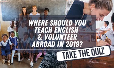 Where Should You Teach English Abroad In 2019?