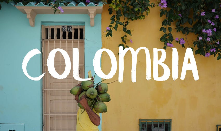 Colombia is a trending travel destination for 2017