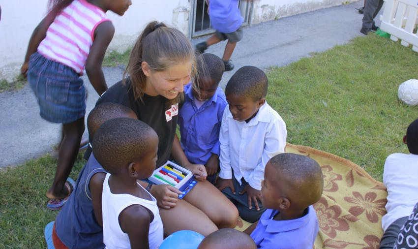 Volunteering in South Africa: childcare and kindergarten