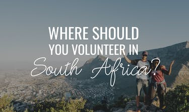 Where should I volunteer in South Africa