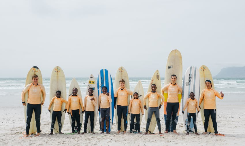 Volunteering in South Africa: Surf Outreach project