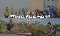 Where Your Travel Personality Says You Should Volunteer In 2018