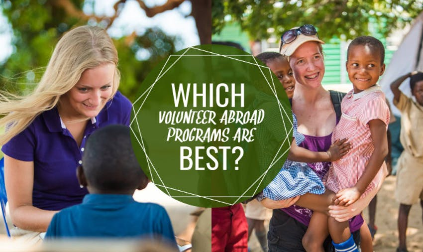 What Volunteer Abroad Programs Are Best?