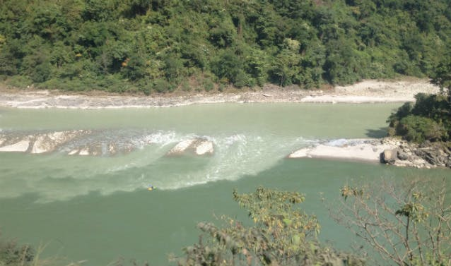 Volunteers On the Trishuli River in Nepal